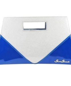 Star Struck Vixen Clutch Bag - Royal Blue/Silver
