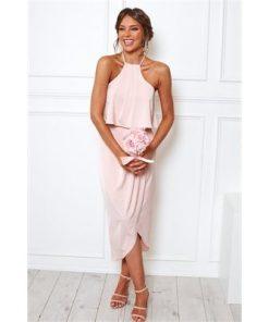 Peony Dress - Blush
