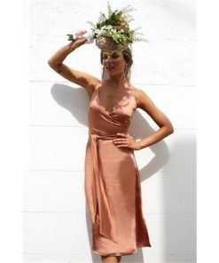 Poppy Dress - Bronze