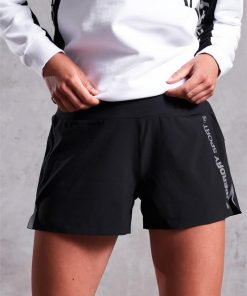 Active Loose Shorts Black