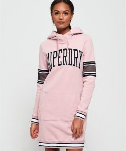 Beccy Sweat Dress Dusty Pink