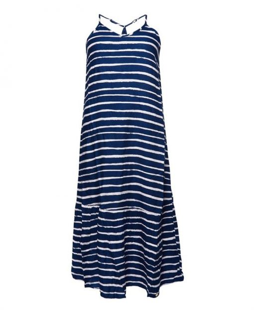 Evee Maxi Dress Painted Stripes