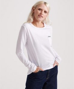 Ol Essential Ls Top White