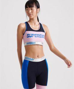 Sport Sprint Workout Bra Dark Navy